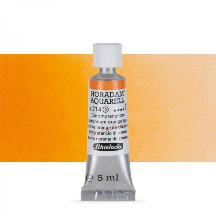 Schmincke : Horadam Watercolour : 5ml : Chromium Orange Hue (Chrome Orange)