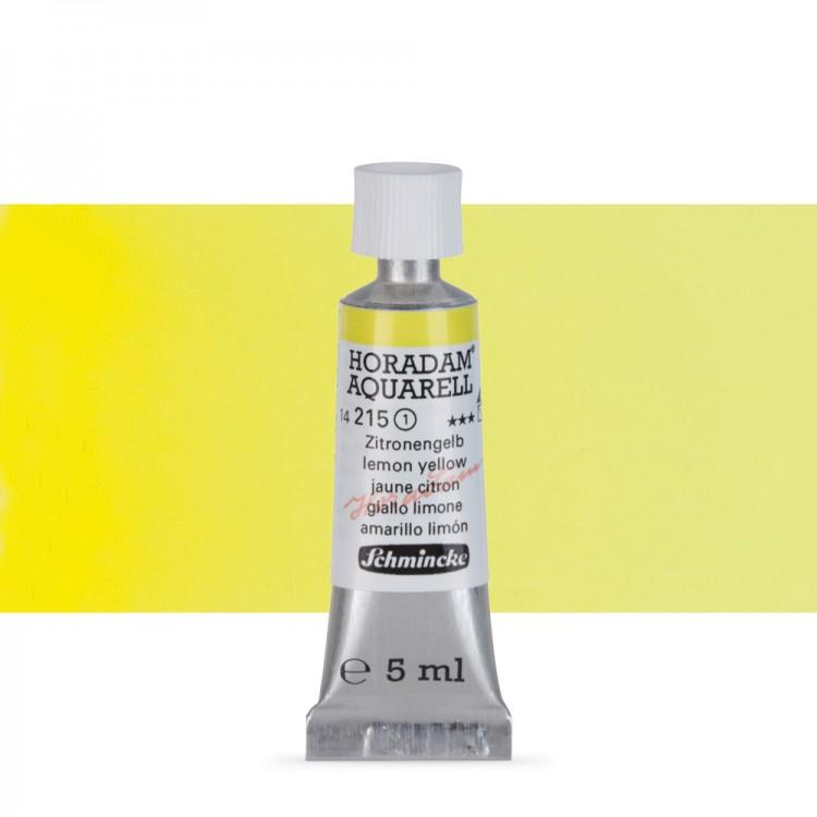 Schmincke : Horadam Watercolour Paint : 5ml : Lemon Yellow