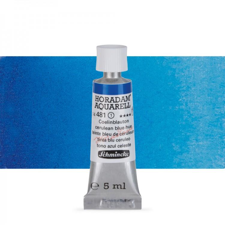 Schmincke : Horadam Watercolour Paint : 5ml : Cerulean Blue Tone