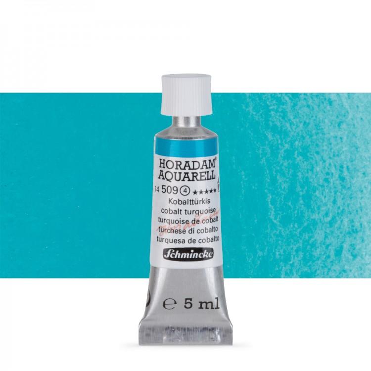 Schmincke : Horadam Watercolour Paint : 5ml : Cobalt Turquoise