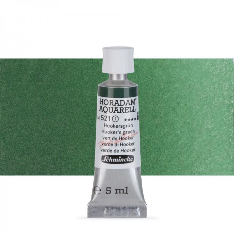 Schmincke : Horadam Watercolour Paint : 5ml : Hookers Green