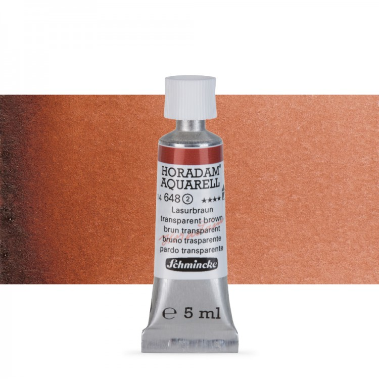 Schmincke : Horadam Watercolour Paint : 5ml : Translucent Brown