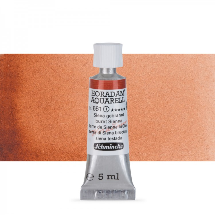 Schmincke : Horadam Watercolour Paint : 5ml : Burnt Sienna