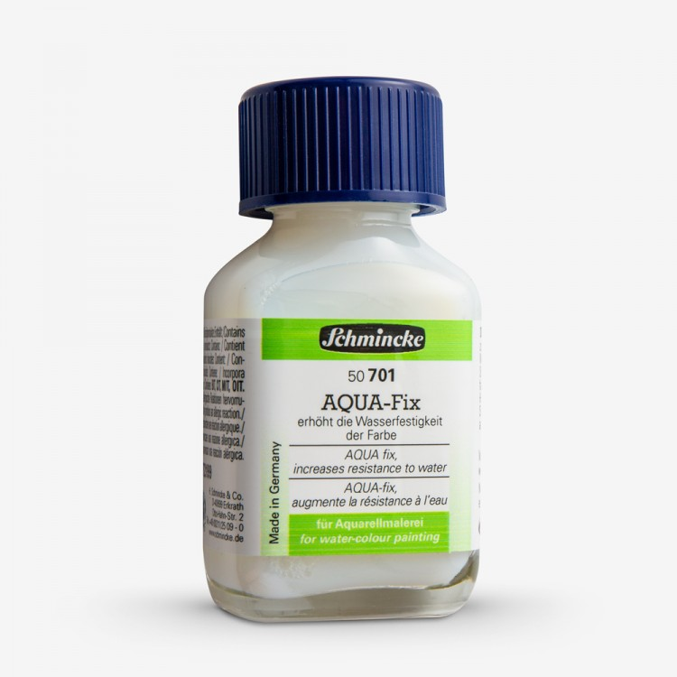 Schmincke : Aqua Watercolour Paint Fixative : 60ml :