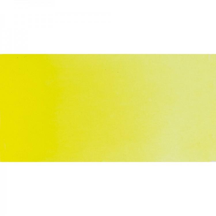 Schmincke : Horadam Watercolour Paint : Half Pan : Chrome Yellow Lemon