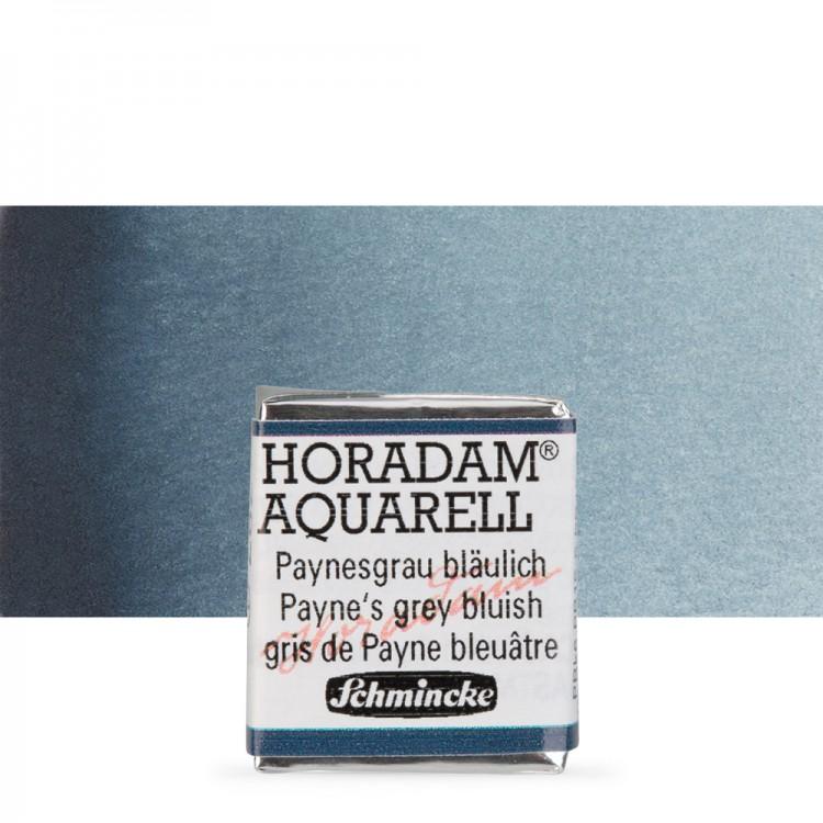 Schmincke : Horadam Watercolour Paint : Half Pan : Paynes Grey (Blue)