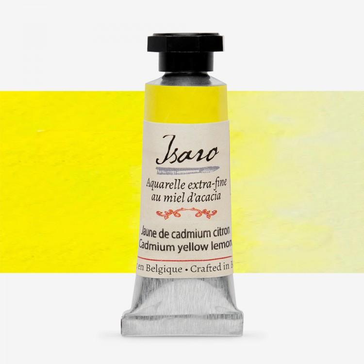 Isaro : Watercolour Paint : 7ml : Cadmium Yellow Lemon
