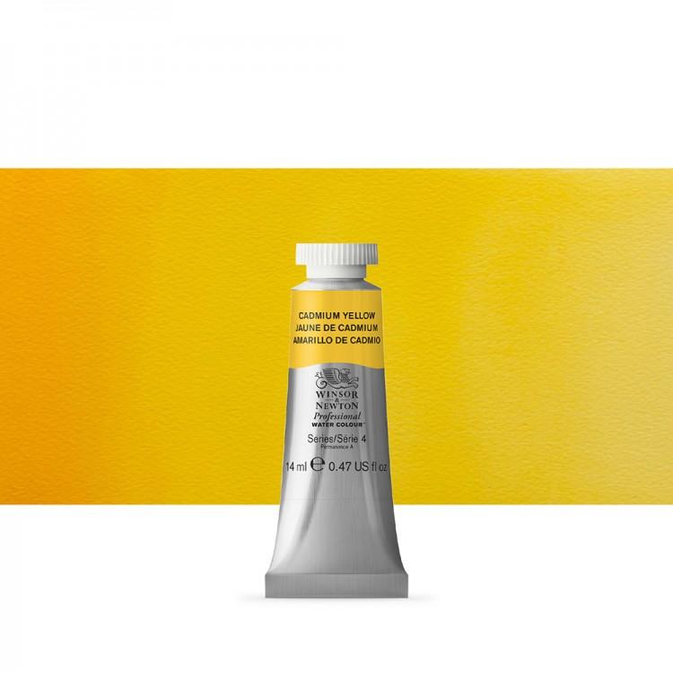 Winsor & Newton : Professional Watercolour Paint : 14ml : Cadmium Yellow
