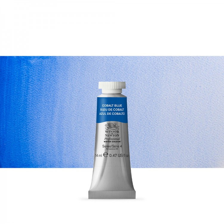Winsor & Newton : Professional Watercolour Paint : 14ml : Cobalt Blue
