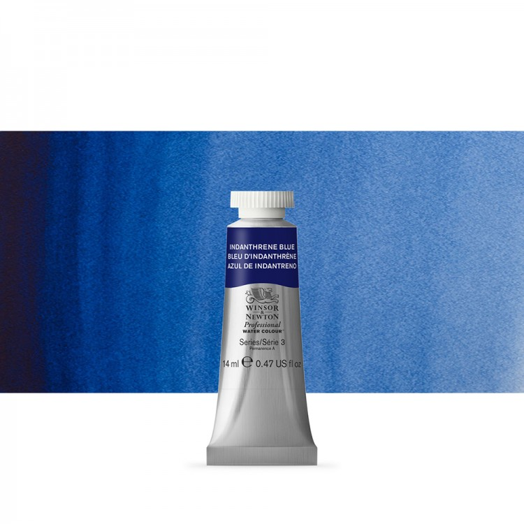 Winsor & Newton : Professional Watercolour Paint : 14ml :Indanthrene Blue