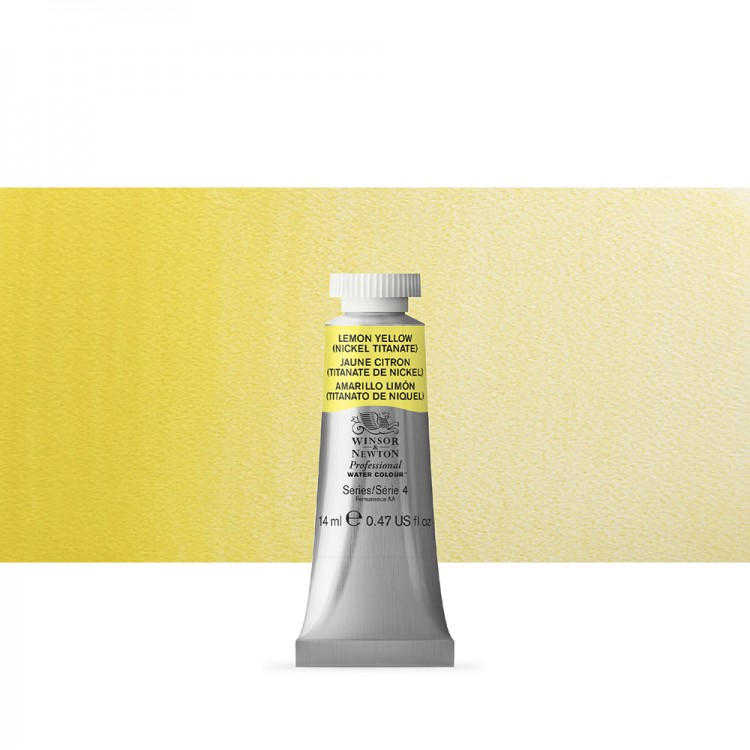 Winsor & Newton : Professional Watercolour : 14ml : Lemon Yellow