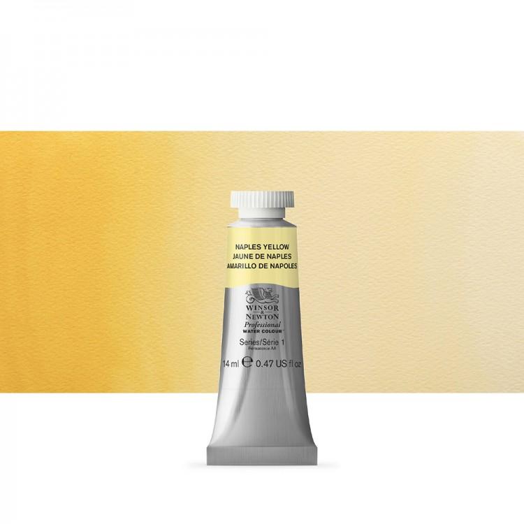 Winsor & Newton : Professional Watercolour Paint : 14ml : Naples Yellow