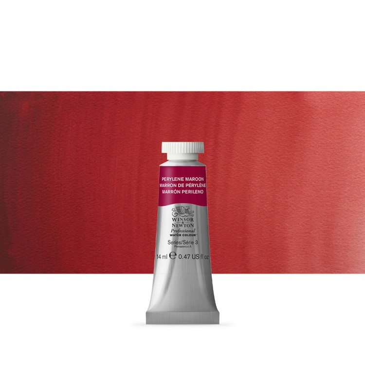 Winsor & Newton : Professional Watercolour Paint : 14ml : Perylene Maroon