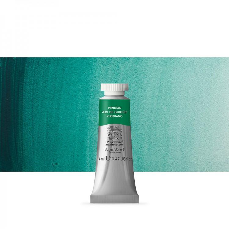Winsor & Newton : Professional Watercolour Paint : 14ml : Viridian