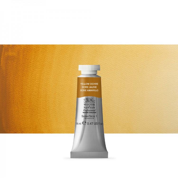 Winsor & Newton : Professional Watercolour Paint : 14ml : Yellow Ochre