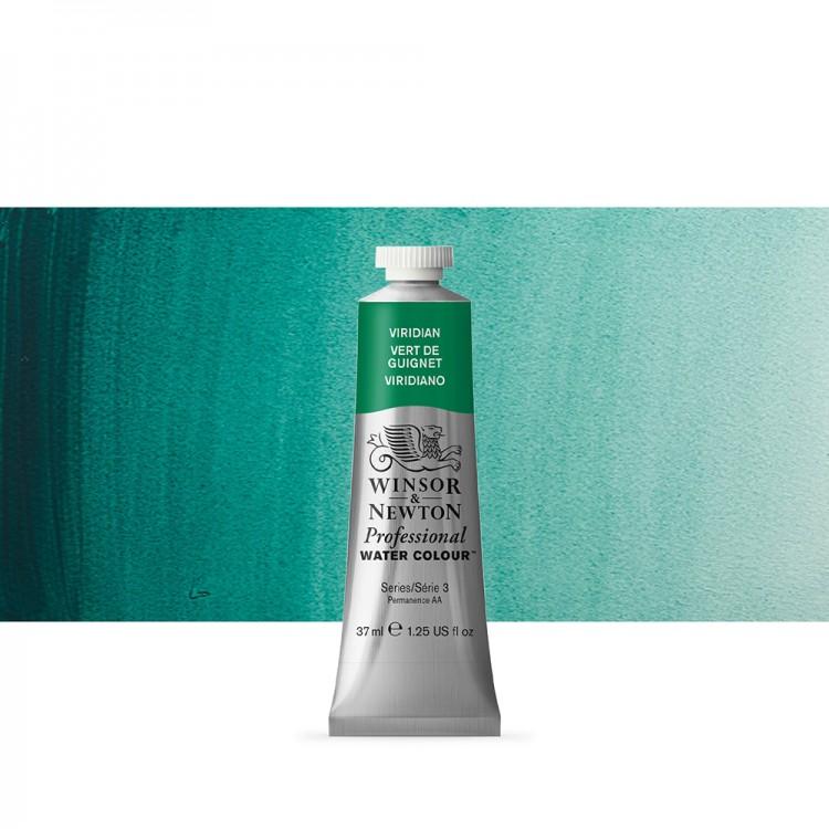 Winsor & Newton : Professional Watercolour Paint : 37ml : Viridian