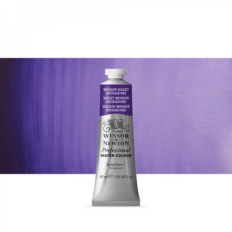 Winsor & Newton Professional Watercolour : 37ml tube Winsor Violet Dioxazine