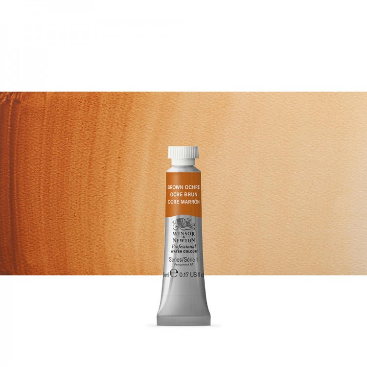 Winsor & Newton : Professional Watercolour Paint : 5ml : Brown Ochre