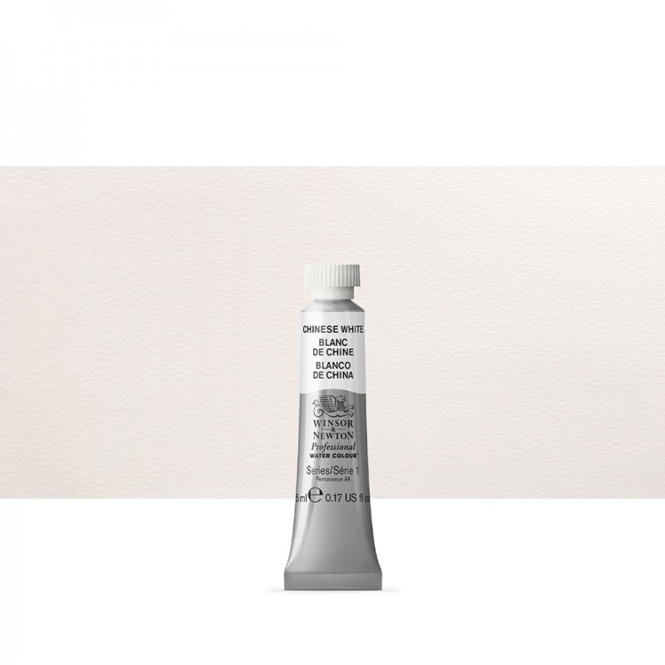 Winsor & Newton : Professional Watercolour Paint : 5ml : Chinese White