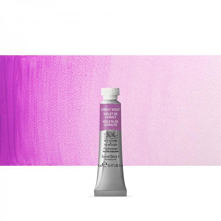 Winsor & Newton : Professional Watercolour Paint : 5ml : Cobalt Violet