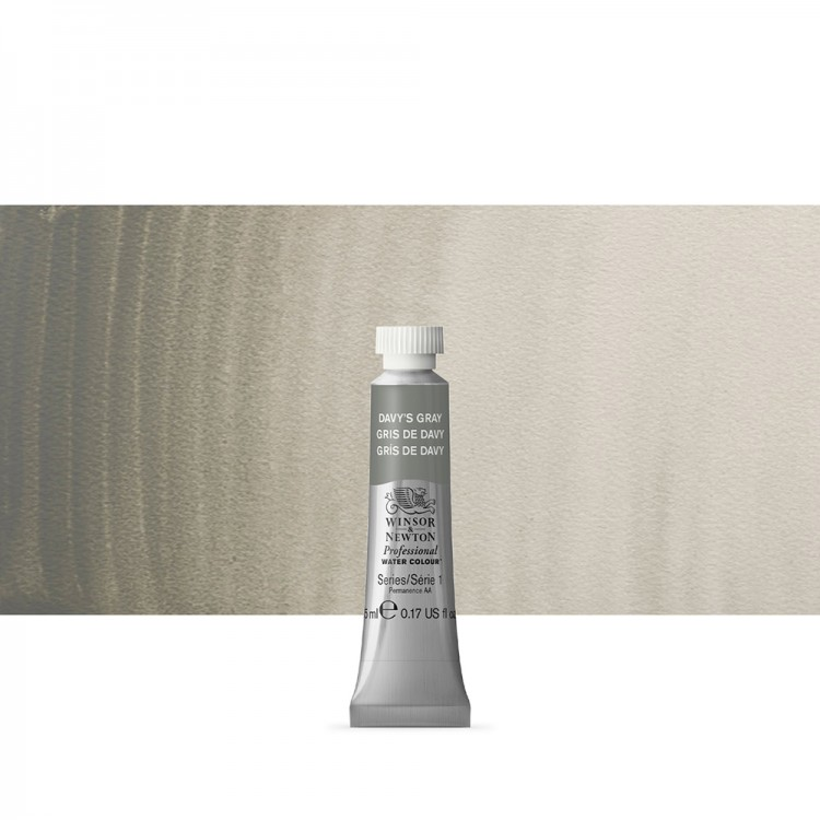 Winsor & Newton : Professional Watercolour Paint : 5ml : Davys Grey