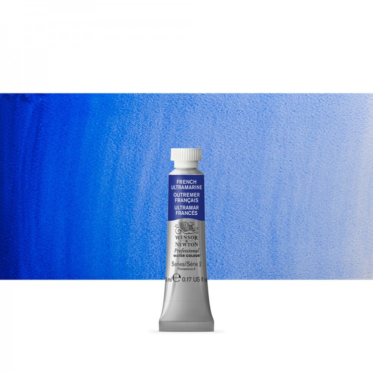 Winsor & Newton : Professional Watercolour : 5ml : French Ultramarine