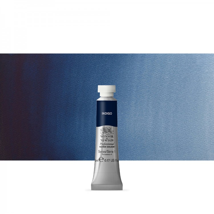 Winsor & Newton : Professional Watercolour Paint : 5ml :Indigo