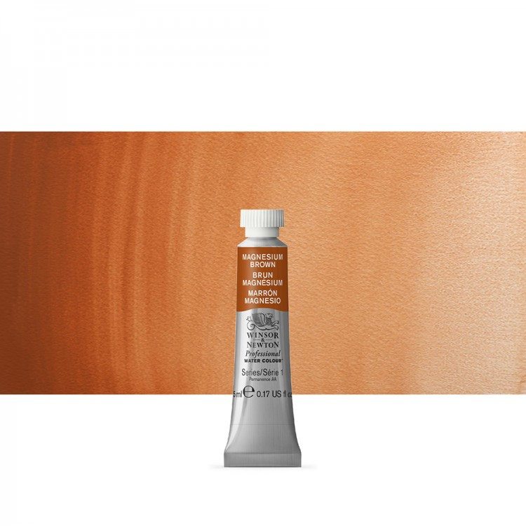 Winsor & Newton : Professional Watercolour Paint : 5ml : Magnesium Brown