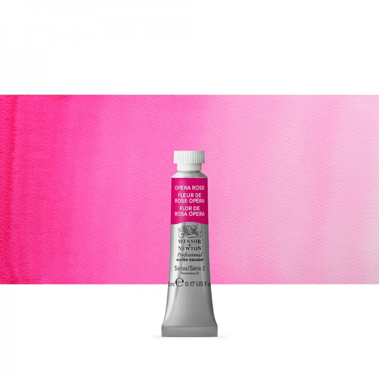 Winsor & Newton : Professional Watercolour Paint : 5ml : Opera Rose