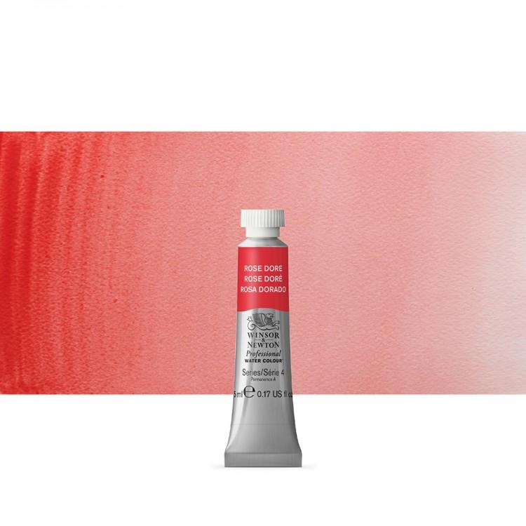Winsor & Newton : Professional Watercolour Paint : 5ml : Rose Dore