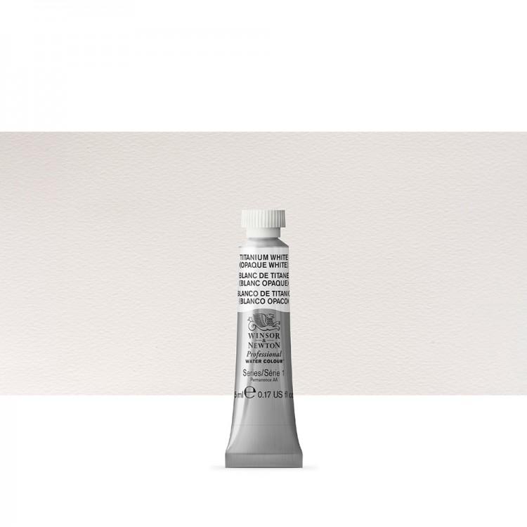 Winsor & Newton : Professional Watercolour Paint : 5ml : Titanium White