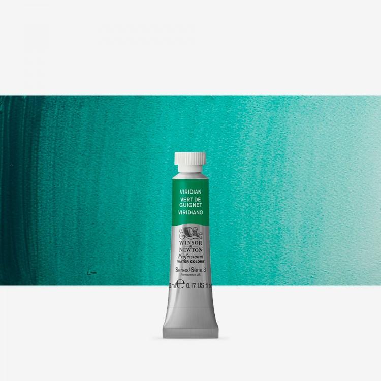 Winsor & Newton : Professional Watercolour Paint : 5ml : Viridian