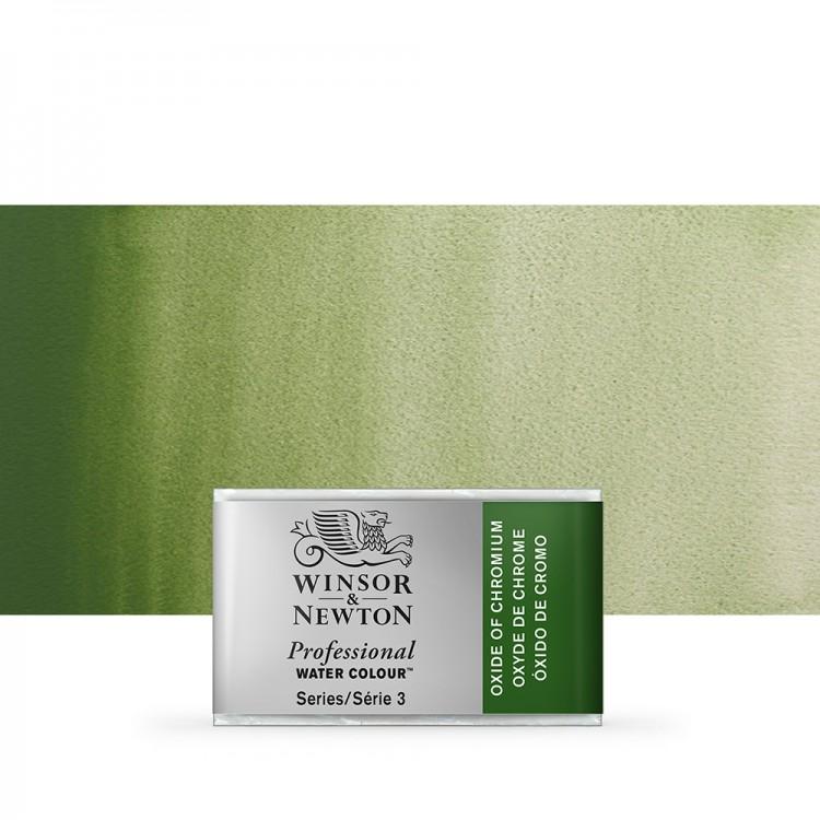 Winsor & Newton : Professional Watercolour Paint : Full Pan : Oxide Of Chromium