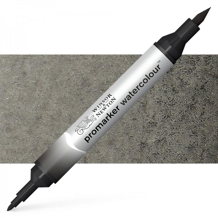 Winsor and Newton : Watercolour Marker : Lamp Black