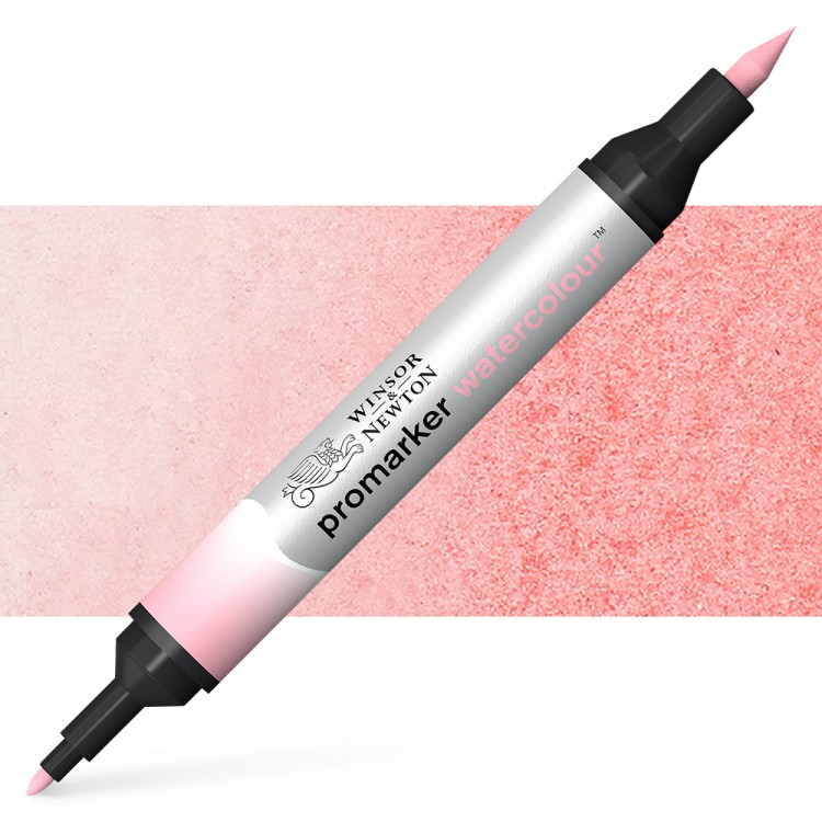 Winsor and Newton : Watercolour Marker : Pale Rose
