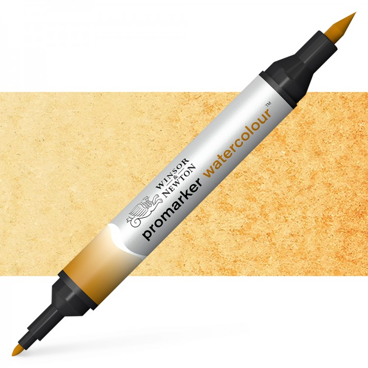 Winsor and Newton : Watercolour Marker : Yellow Ochre