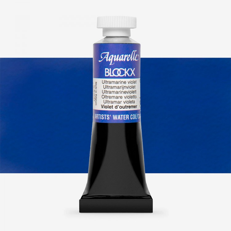 Blockx : Watercolour Paint : 15ml : Ultramarine Violet