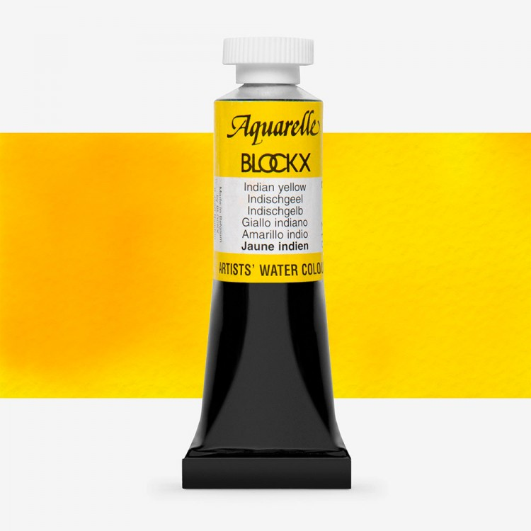 Blockx : Watercolour Paint : 15ml : Indian Yellow