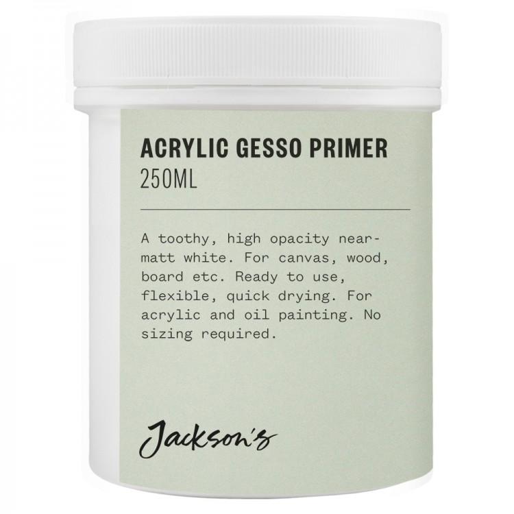Jackson's : Acrylic Gesso Primer : 250ml