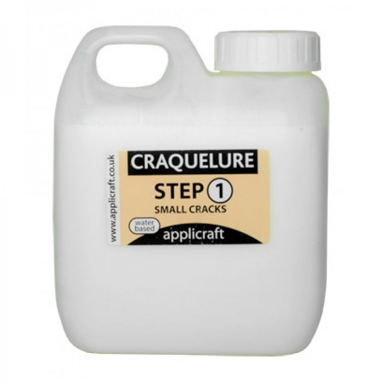 Applicraft : Craquelure Base : Small Crack Effect : Water Based : 100 ml