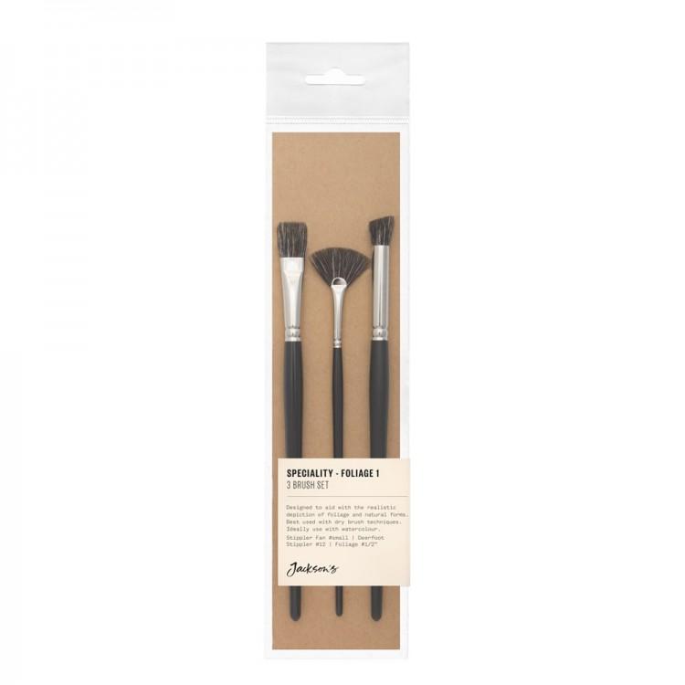 Jackson's : Speciality Brush Set : Set of 3