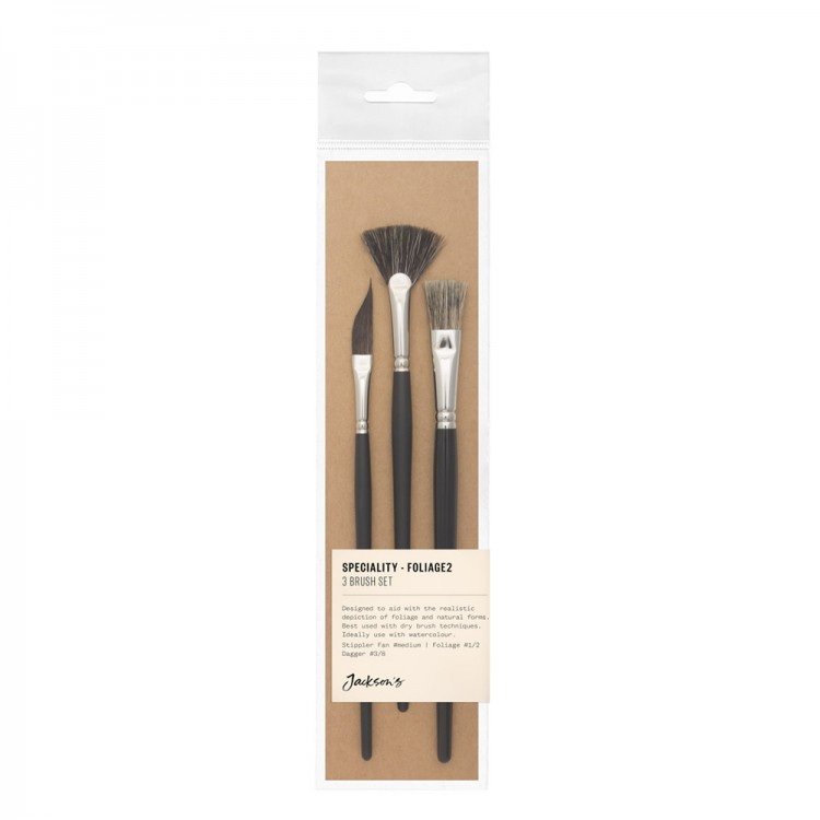 Jackson's : Speciality Brush Set : Set of 3