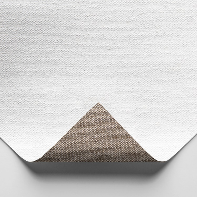 Claessens : 166 Medium Linen : 415gsm : Universal Primed : 210cm Wide : Per Metre