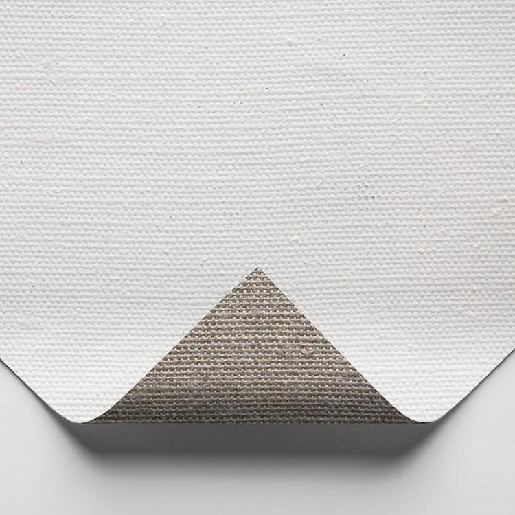 Belle Arti : 511 Medium Linen : 524gsm : Gesso Primed : 210cm Wide : Per Metre