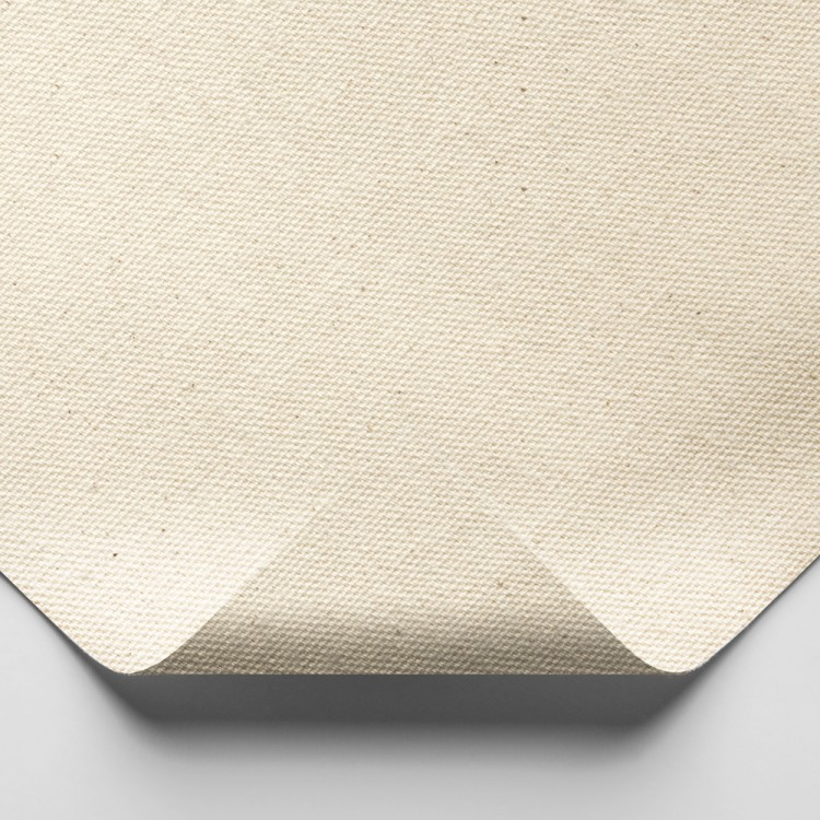 Jackson's : Medium Cotton Duck Canvas : 339gsm (10oz) : Unprimed : 183cm Wide : Per Metre : Sent Folded