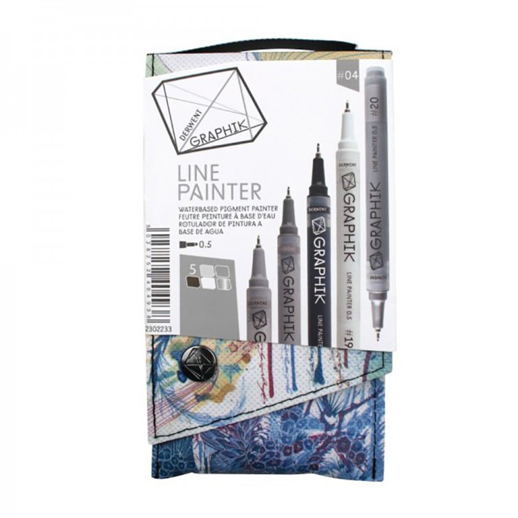 Derwent : Graphik Line Painter Pen Sets