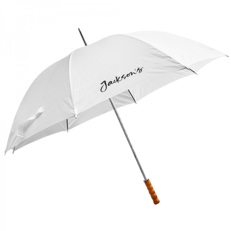 Jackson's : White Umbrella