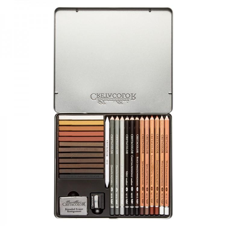 Cretacolor : Creativo Drawing Set of 27