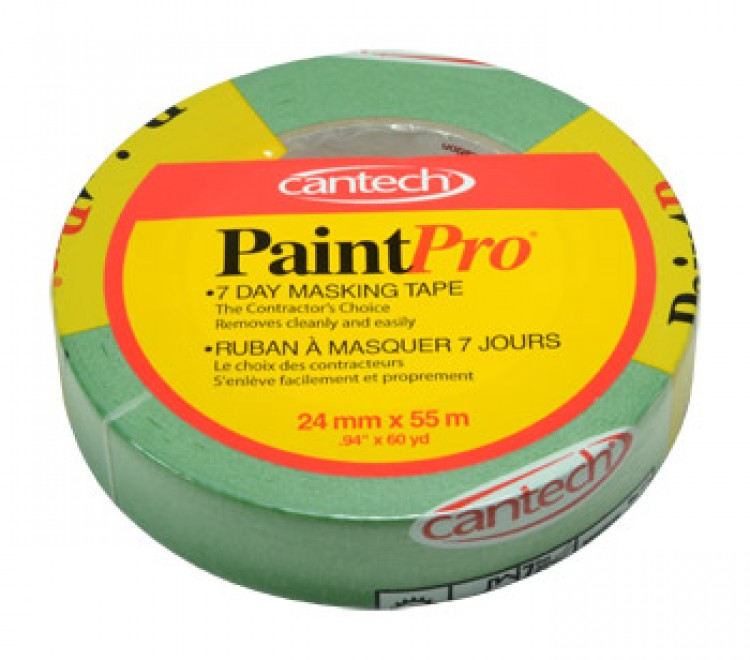 Paint Pro : Green Medium Tack Masking Tape 24mm x 55m