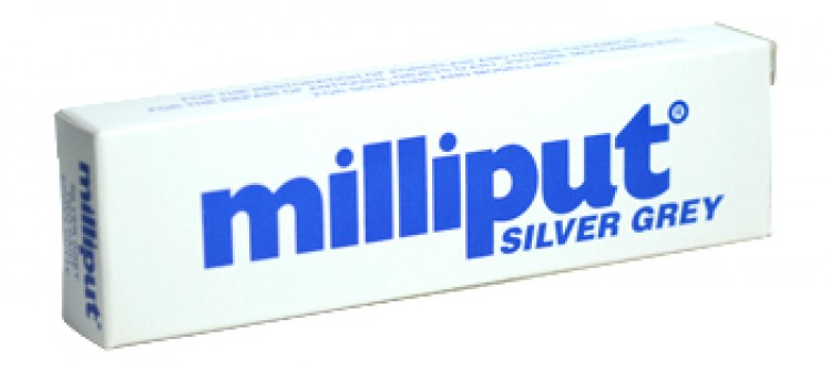 Milliput Epoxy Resin 113.4gm Silver Grey Versatile Putty can be sculpted